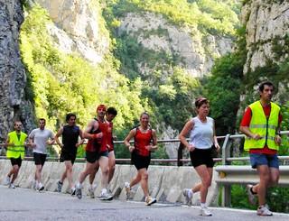 Veinte corredores reivindican el Medio Maratón Villa de Benasque